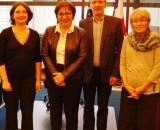 Rencontre entre une délégation Conso-France et la Ministre Martine Pinville :