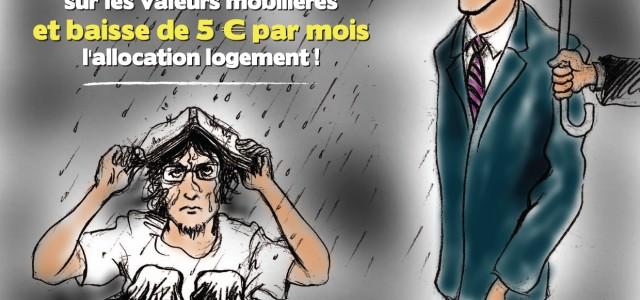 """MARCHE  """"pas touche aux APL ! """" !"""